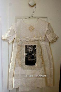 Altered Vintage Dress