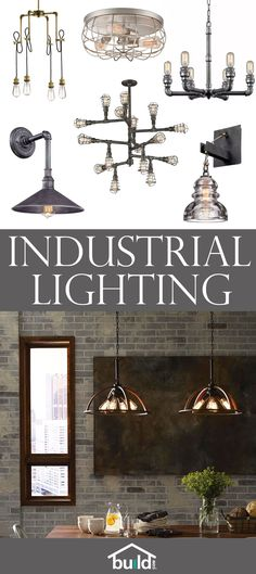 Add a vintage, retro, industrial touch to your home easily by upgrading your lighting. Metal and steel mixed with Edison bulbs make the perfect combo.