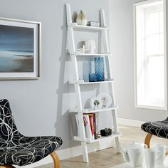 Cyprus Ladder Bookcase – Next Day Delivery Cyprus Ladder Bookcase from WorldStores: Everything For The Home