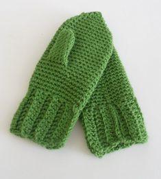How to crochet mittens / Как связать крючком варежки