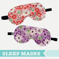 Sewing Patterns Free This free sewing pattern is the adult sleep eye mask. This pattern is a very quick sew so whip some up for your friends and family too! Easy Sewing Projects, Sewing Hacks, Sewing Tutorials, Sewing Tips, Sewing Ideas, Sewing Class, Sewing Basics, Sewing Patterns Free, Free Sewing