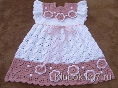 beautiful baby crochet patterns Archives - Beautiful Crochet Patterns and Knitting Patterns Crochet Baby Dress Pattern, Knit Baby Dress, Baby Dress Patterns, Baby Girl Crochet, Crochet Baby Clothes, Baby Knitting Patterns, Crochet For Kids, Easy Crochet, Crochet Patterns