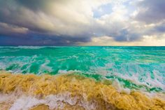 Beautiful ocean...  Cancun, Mexico