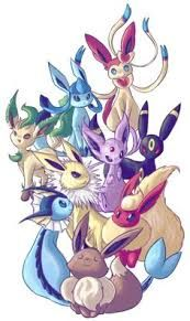 Image result for eevee+family