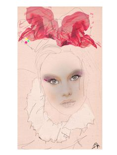 Bow. By Boz Chiara Illustrator Artist