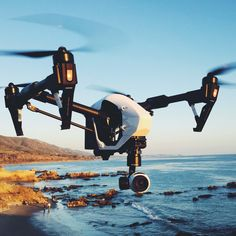 The DJI Inspire 1 is a brand new quadcopter capable of capturing 4K video and transmitting in HD video signal to multiple devices straight out of the box. Equipped with retractable landing gear, an unobstructed 360 degree view from the camera is made possible by simply moving the landing gear out of sight. The built-in camera has been integrated with a gimbal to minimize space and maximize weight efficiency.  Optical Flow enhances the hovering precision when no GPS is available. Live HD…