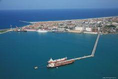Foto aérea - Porto do Mucuripe - Fortaleza, CE