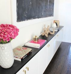 Pretty pink touches