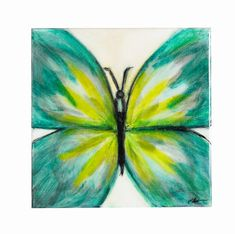 Butterfly Original Painting on Canvas