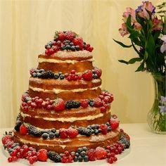 Wedding - The Naked Wedding Cake