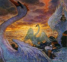 The Wild Swans by Anton Lomaev
