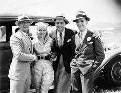 1933. Gene Raymond, Ginger Rogers, Raul Roulien, and Fred Astaire.