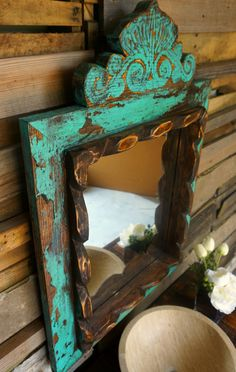 Rustic Furniture Ideas and Projects for Home Decor Painted Furniture, Furniture Renovation, Diy Home Decor, Rustic Furniture, Italian Bedroom Furniture, Diy Furniture Bedroom, Repurposed Furniture, Recycled Furniture, Mirror