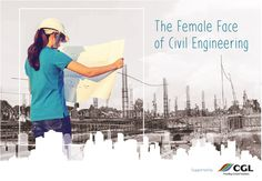 The Female Face of Civil Engineering   The Female Face of Civil Engineering uses an engaging visual style to show personal profiles of ten women working in a wide range of roles in construction.   Download the online version is at tffoce.net and printed copies are being distributed via STEM organisations and schools from the start of the new academic year. Copies can be requested by email to  tffoce@cgl-uk.com.