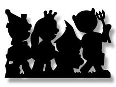 The Lady Wolf: Halloween Kids Costume Line Silhouette SVG