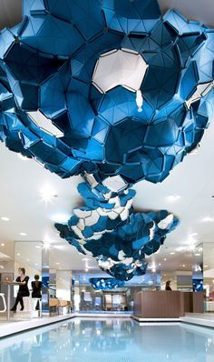 Clouds is an innovative decorative motif concept designed for Ligne roset clouds