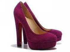 Purple-pink heels