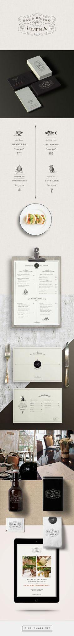 Ultra Bistro Restaurant Branding and Menu Design by Bunker3022   Fivestar Branding Agency – Design and Branding Agency & Inspiration Gallery