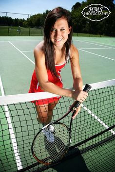 Sports Senior Portrait Tennis
