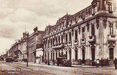 Lima la Única: Retrofoto: Casona del Jr. Camana y Av. La Colmena
