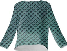 Mermaid Silk Top - Available Here: http://printallover.me/collections/sondersky/products/0000000p-mermaid-15