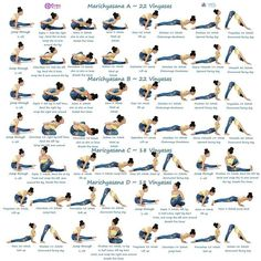 Happy Friday beautiful omies  Episode 1⃣ 8️⃣ #ashtangavinyasawithelena Poses of the day #marichyasana . With me and @re3life #re3 #re3life ❤️ . Marichyasana A B Dristi: Tip of the big toe 22 Vinyasas . Sapta 7 Marichy A : Jump through to seated position, fold the right leg, and wrap around the right arm. Head up. . Sapta 7 Marichy B : Jump through to seated position, bend the left leg into half lotus, fold the right leg and wrap around the right arm. Head up. . Astau 8 : Exhale, chin to…