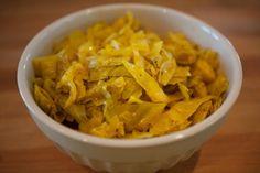 Shivakraut - Indian spiced sauerkraut