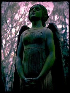 Silence of the angels at the Melaten Cemetery Cologne. by [ henning ], via Flickr