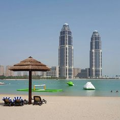 Beach at the Grand Hyatt #Doha #Qatar @cherimacleod TAG your PHOTOS #Qatarism