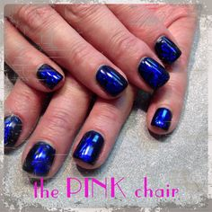 shellac midnight swim | Nails | Pinterest