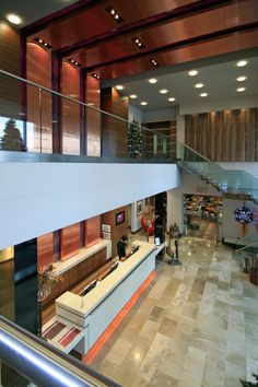 The double height reception of the Casa Hotel, Chesterfield: http://www.fuse-studios.com/2011/01/casa-hotel-interiors/