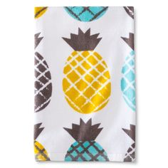 Room Essentials ™ Pineapple Printed Terry Kitchen Towel - Yellow