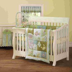 Amazon.com: Step By Step Sea Life 4 Piece Crib Set, Blue/Brown: Baby