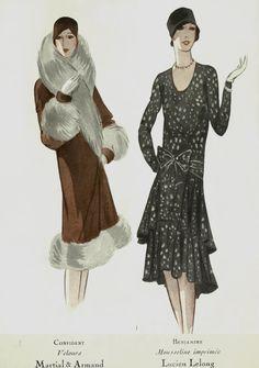 1920s Fashion - Lucien Lelong