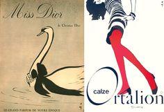 Le linee della bellezza: René Gruau