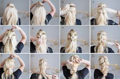 How to Pull Through Braid for Long Thick Hair