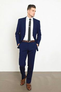 Style of the day - Navy Suit