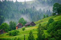 Ворохта, Івано-Франківська область, Україна / Vorokhta, Ivano-Frankivsk Oblast, Ukraine.