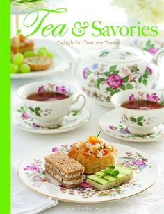 Edited By Lorna Reeves Tea sandwiches and canapés, quiches and tarts, and soups and salads are abundant in this collection of 100 delectable recipes from the editors of TeaTime magazine. Twelve tearoo