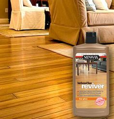 Minwax® Hardwood Floor Reviver   No Sanding! I Want To Try This On My