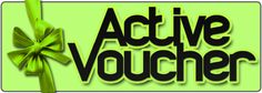 #voucher #activetimes #readyforparty #party #awesome