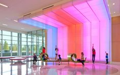 Nemours Children's Hospital Sensory feature, one of over hundreds throughout inside and outside of project. Photo by Stanley Bearman and Sears, Inc that has a full slide show on their site. Pinned by @Gail Zahtz