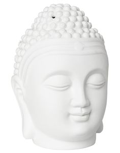 BUDDHA LIGHT oljebrenner hvit | Zence Accessories | Wellbeing | Annet Interiør | Home | INDISKA Shop Online Indian Summer, Buddha, Anna, Sculpture, Lights, Statue, Boho, Fashion, Moda