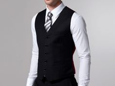 The Essential Black 3 Piece Suit | Indochino