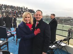 Reince Priebus with his wife and high school sweetheart Sally Sherrow