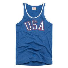 I'll be rocking this on the 4th. HOMAGE USA Red White & Blue Classic Tank Top. Today only, it's on sale for $17.76. Use this link: http://my.homa.ge/x/gJL9H