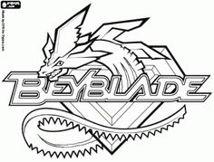 how to draw beyblade step by step