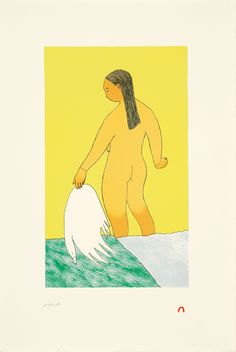 Kiviuq's Wife IN STOCK Artist: Ningeokuluk Teevee Medium: Lithograph Year: 2010 Dimensions: 57 x cm Inuit Art, Inuit Print Inuit Art, Exotic Women, Outsider Art, Prints For Sale, Art Gallery, Fine Art, Illustration, Artwork, Artist