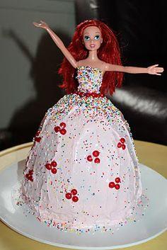 Ariel Princess Cake
