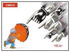 A charge de Chico Caruso